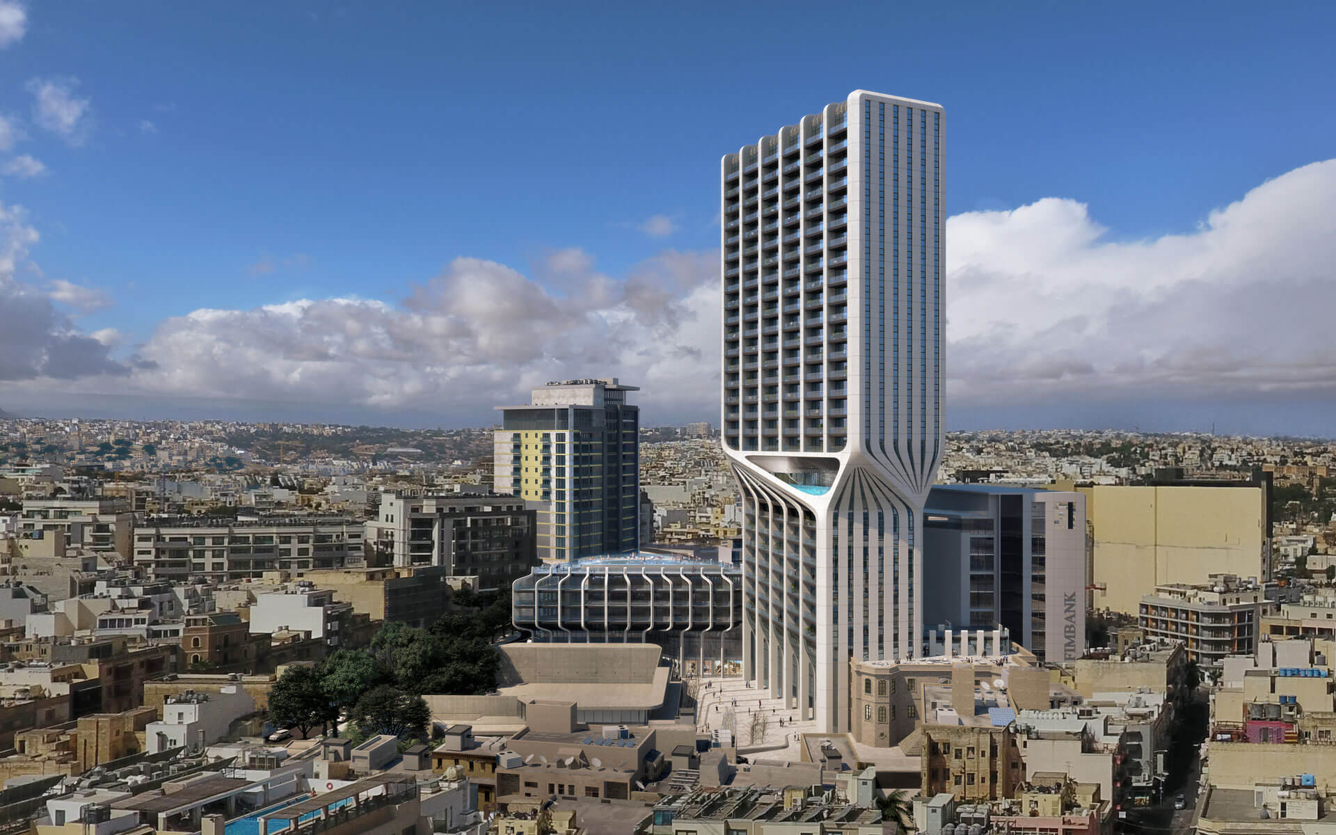 Mercury Towers » J  Portelli Projects Malta | Building your Future